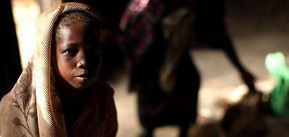 Ein Flüchtling in Zentralafrika: Die Krise trifft Afrika mit voller Wucht