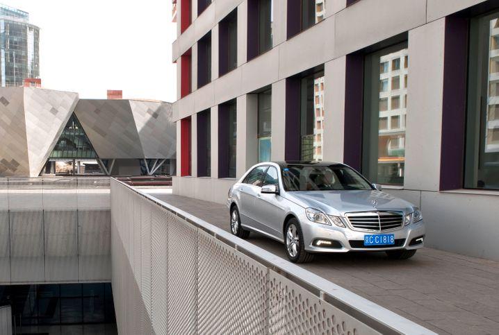 Mercedes E-Klasse: Die Stuttgarter können Platz 16 gelassen nehmen - in China ist die E-Klasse ein Renner
