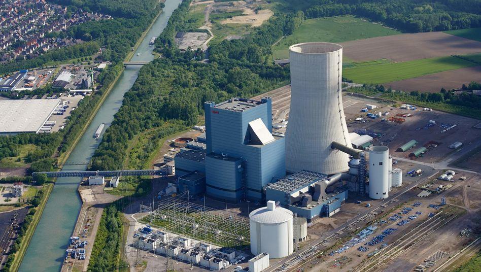 Baustelle des Steinkohlekraftwerks Datteln 4 (Bild von 2015)