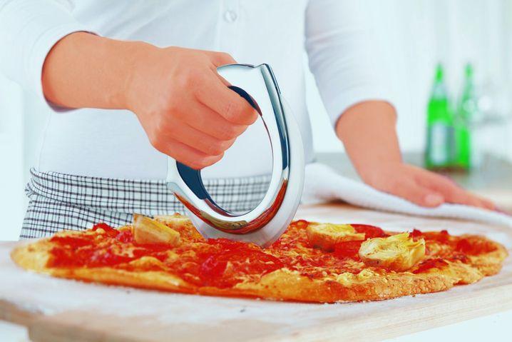 """Das Pizzarad bekam von unserem Tester den Ritterschlag: """"Das Gerät könnten sogar einige Restaurants gebrauchen!"""""""