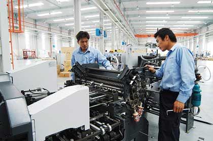 Druckmaschinen in China: Deutsche Globalisierungsgewinner