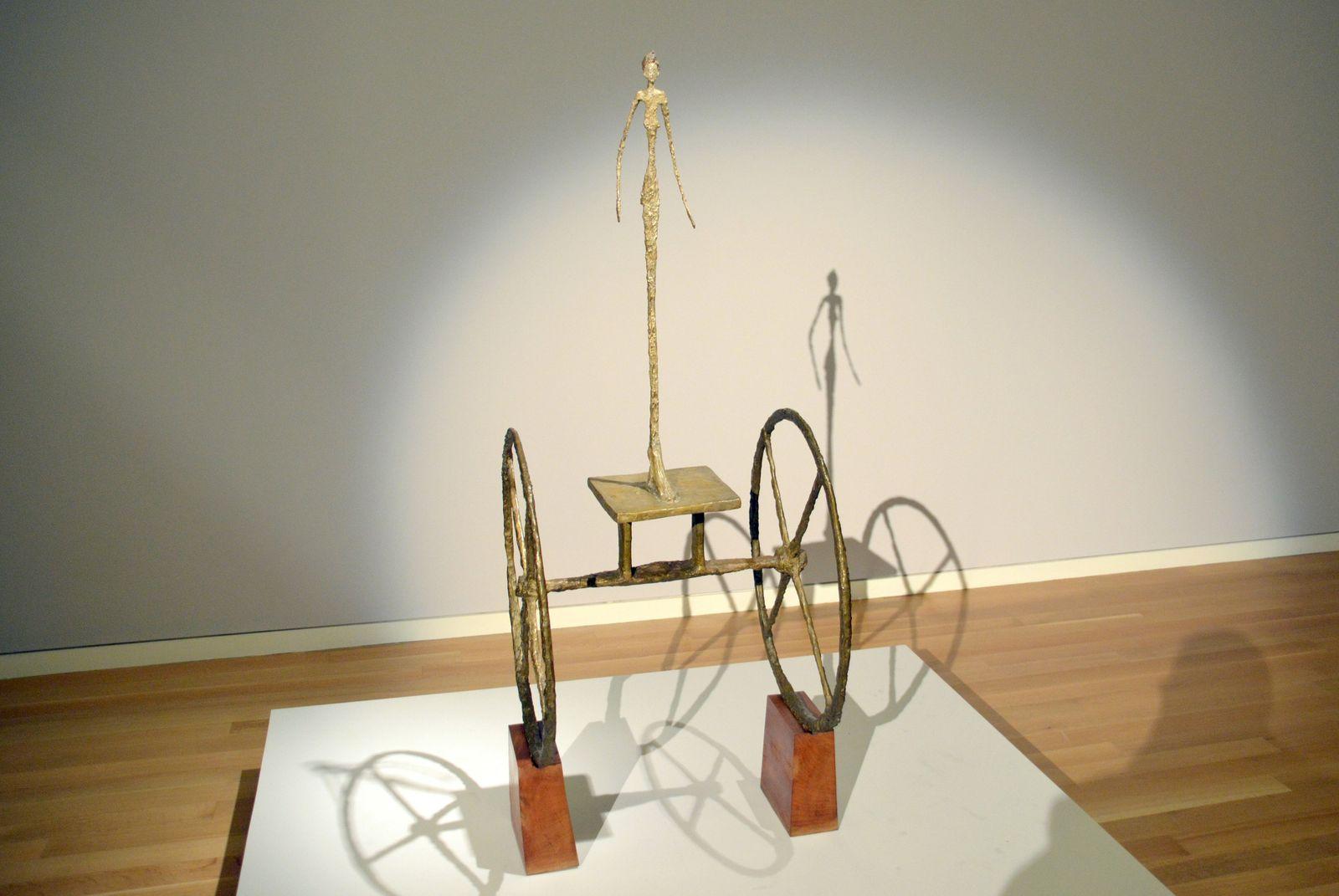 EINMALIGE VERWENDUNG Sothebys will mit Giacometti punkten / Chariot