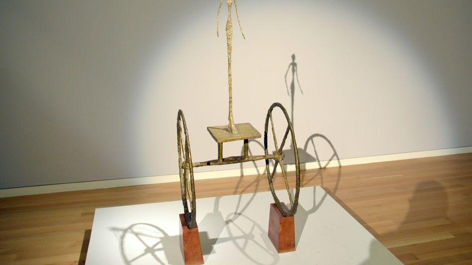 """Giacomettis """"Le Chariot"""": Für das Kunstwerk zahlte Hedgefonds-Milliardär Cohen 101 Millionen Dollar"""