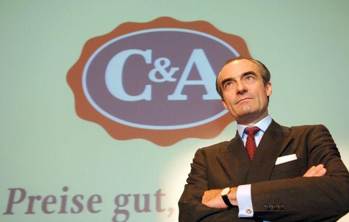 Platz 2: Familie Brenninkmeijer (im Bild Dominic Brenninkmeyer (Archiv)). C&A, Düsseldorf; Cofra, Schweiz. Textilhandel, Immobilien, Beteiligungen. 1800 Familienmitglieder. 20 Mrd. Euro (- 1 Mrd.)