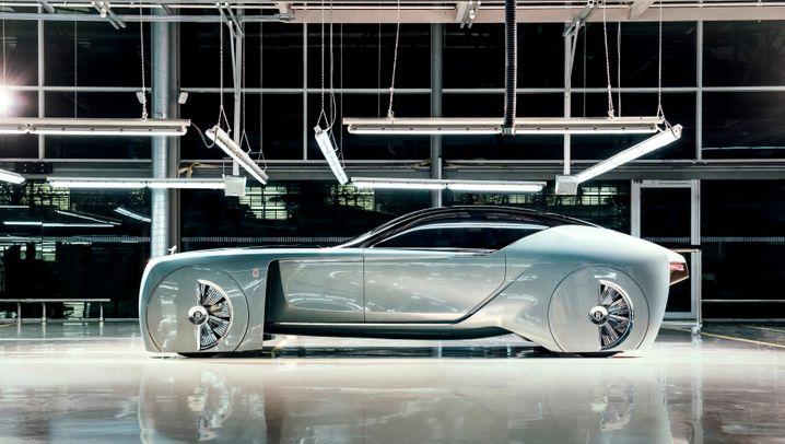 Ist das die Zukunft der Auto-Luxusklasse?: Robo-Rolls-Royce - so könnte die fahrerlose Luxus-Zukunft aussehen