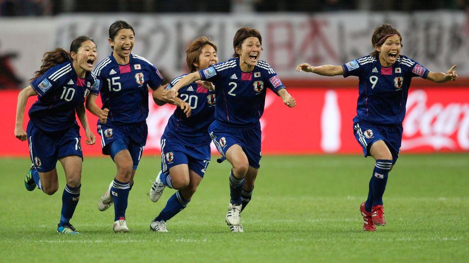 Japanische Nationalspielerinnen: Erstmals Weltmeister im Frauenfußball