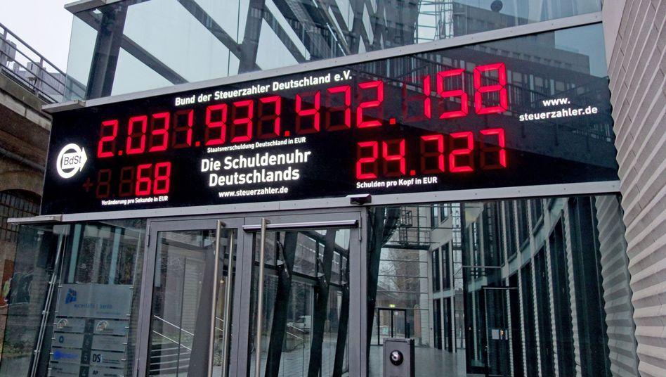Die Schulden steigen nicht nur in Deutschland