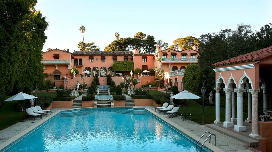 Prominente Immobilie mit neuem Besitzer: Dieses Anwesen gehörte einmal dem legendären US-Verleger William Randolph Hearst - jetz ersteigerte Nicolas Berggruen die Villa