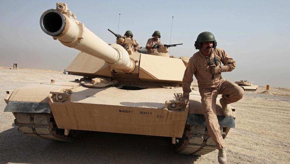 US-Panzer M1A1: Waffenindustrie im Visier der Anleger