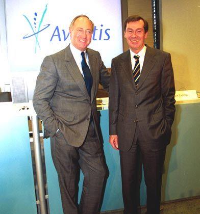 Deutsch-französische Machtbalance: Designierter Vorstandchef Landau, künftiger Aufsichtsratsvorsitzender Dormann