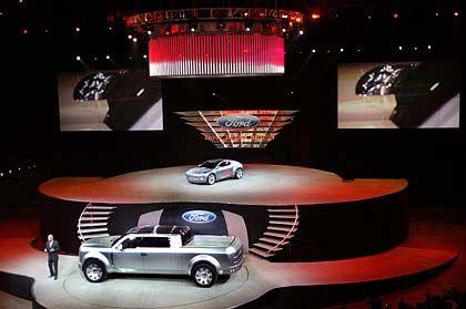Neuer Glanz: Ford-Präsentation auf der Detroit Auto Show