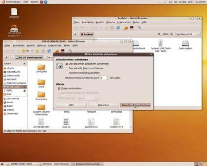 Für den Notfall gerüstet: Da sich Karmic Koala auch ohne Installation und damit nur von der DVD starten lässt, kann es als Rettungswerkzeug für Windows-Systeme genutzt werden