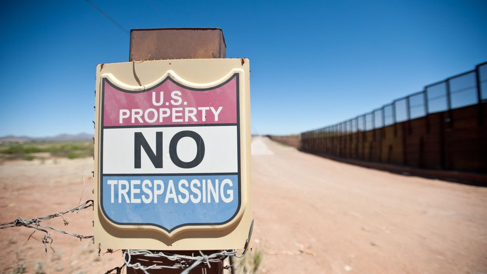 Grenze zwischen Mexiko und USA: Derzeit verlassen mehr illegale Einwanderer die USA, als in die USA einreisen