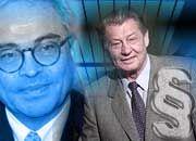 Die Kontrahenten: Rolf-E. Breuer und Leo Kirch