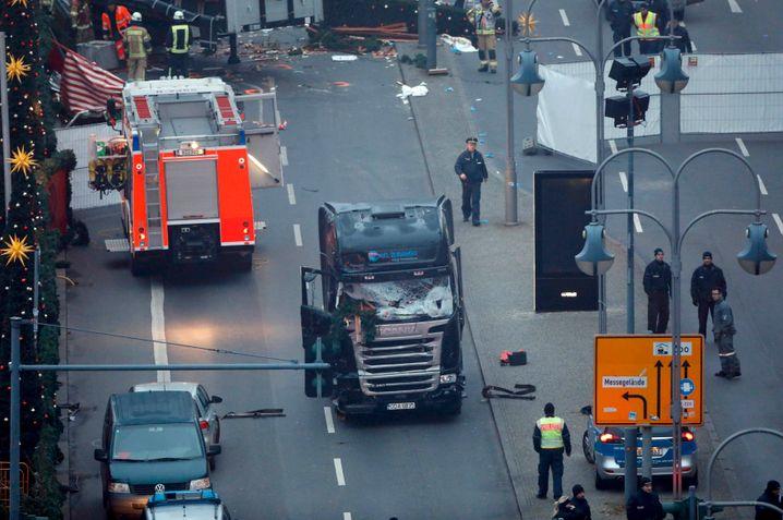 Lkw von Berlin: Der Täter kaperte den Truck, tötete offenbar den Fahrer und raste dann in den Markt
