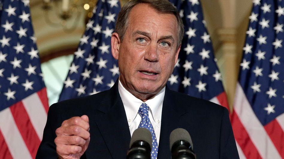 John Boehner: Gelingt es dem Republikaner, den rechten Flügel seiner Partei auf eine Kompromissline zu bringen?