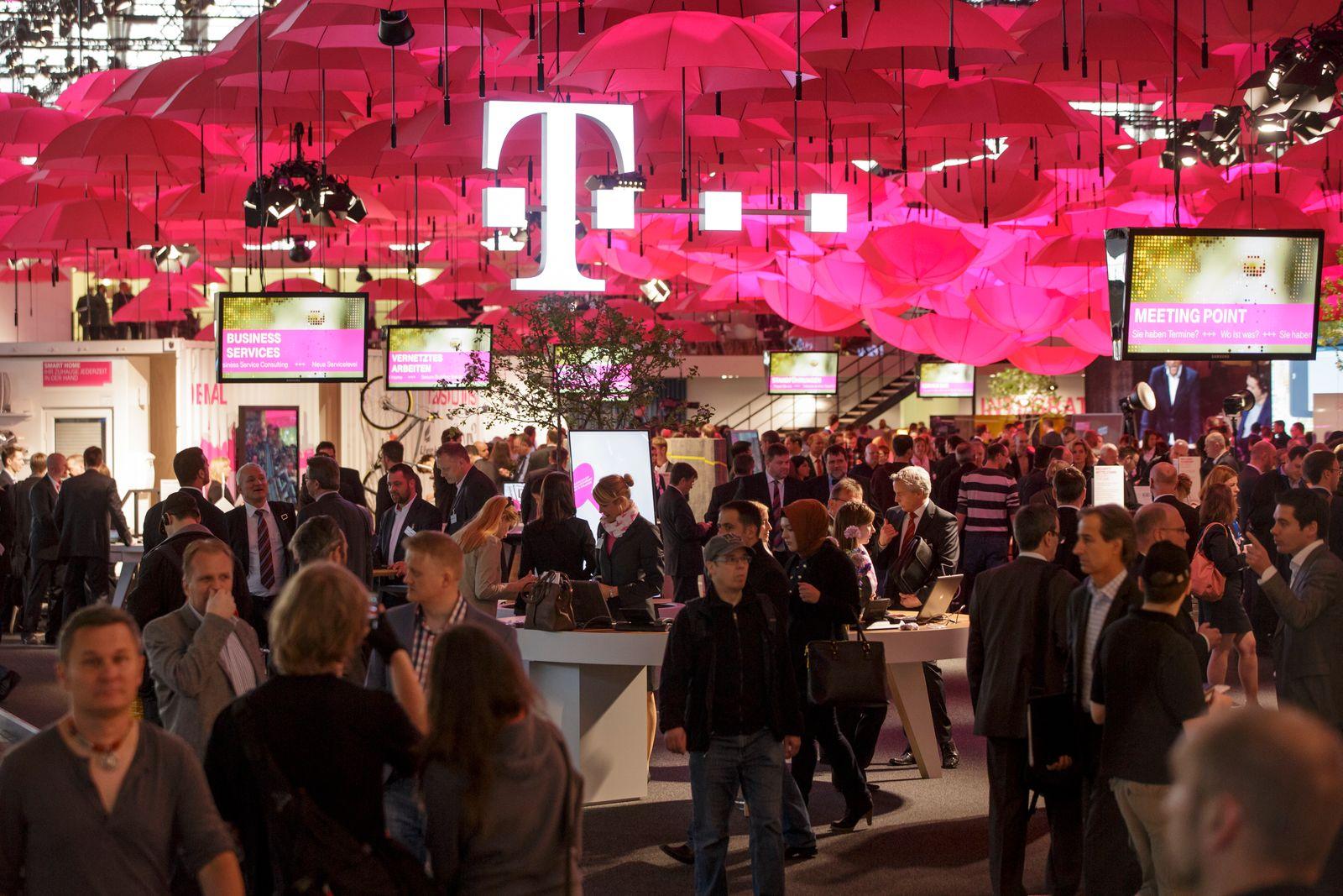 CeBIT 2014 - Telekomstand