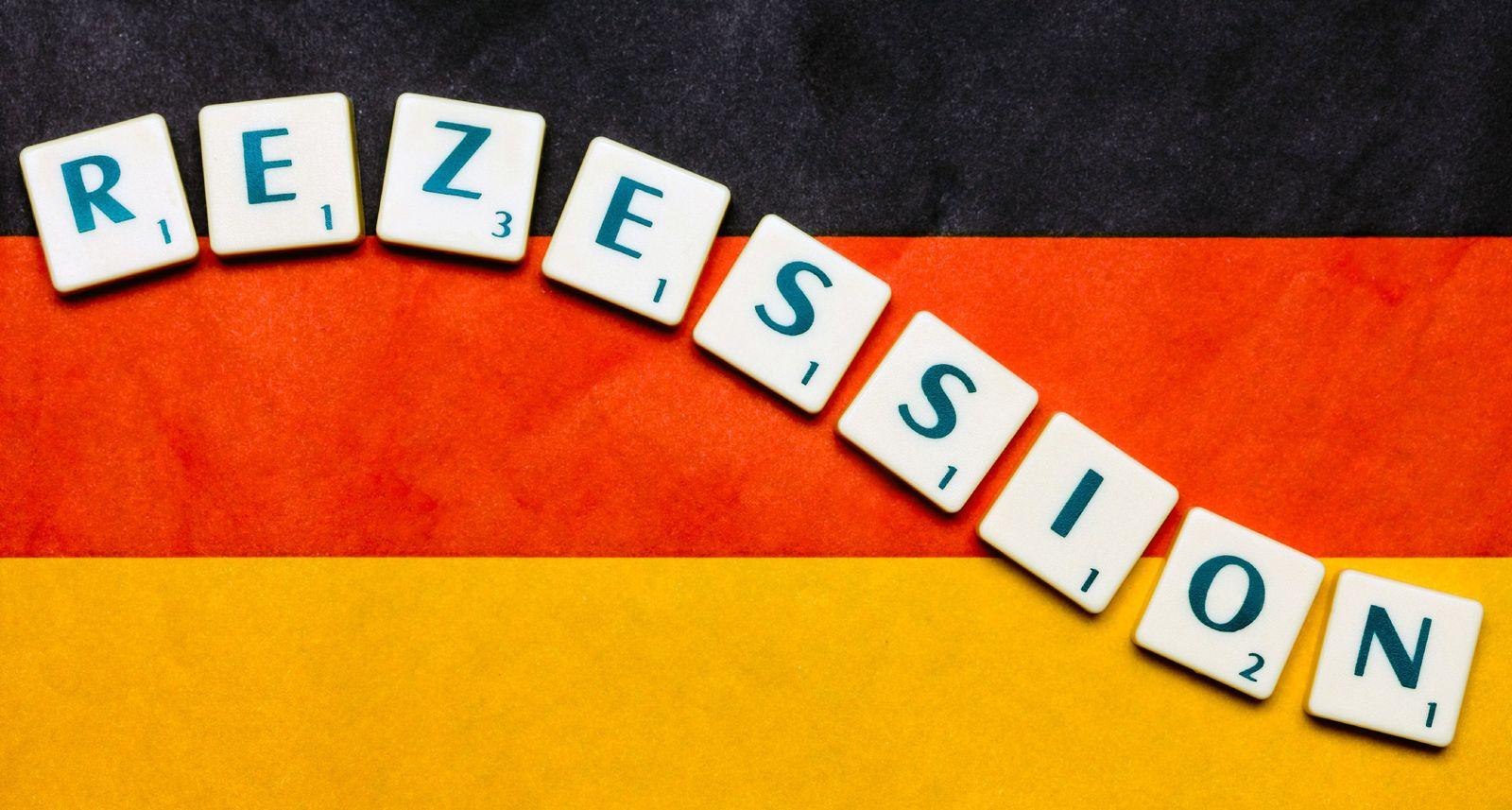 Deutschland rutscht 2009 in Rezession