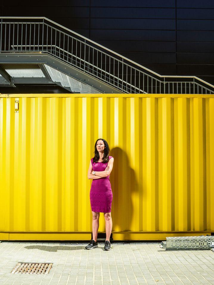 Doreen Huber: Die Topmanagerin baut ein eigenes Start-up auf - mit etlichen Frauen.