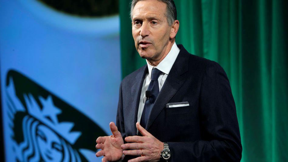 Howard Schultz: Der ehemalige Starbucks-Chef erwägt, als unabhängiger Kandidat in den US-Wahlkampf einzuziehen
