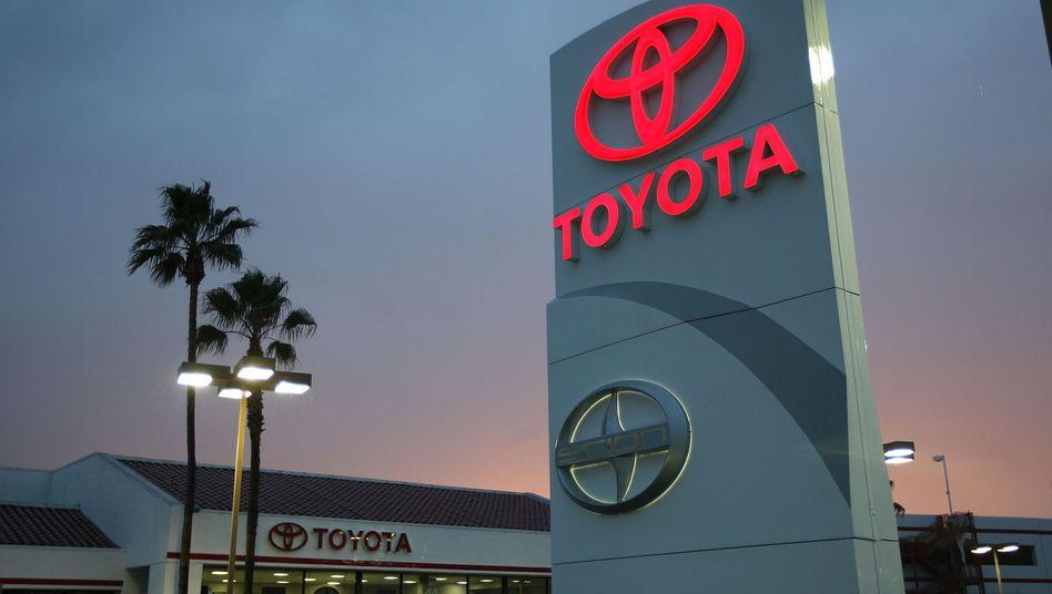 Toyota-Händler in Kalifornien: Ab Mai sind die Modelle bis zu 2,2 Prozent teurer