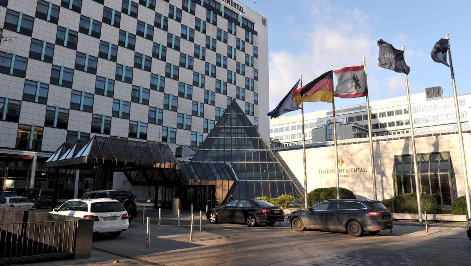 """Prominenter Gast im Anflug: Während des G20-Gipfels im Juli in Hamburg wird US-Präsident Trump angeblich im """"InterConti"""" in Berlin nächtigen"""