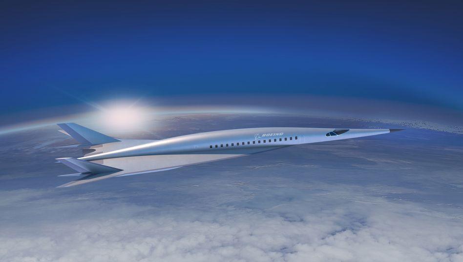 Boeings Hyperschall-Konzept