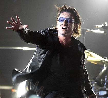 U2-Sänger Bono: Große Show auf der Waldbühne in Berlin, demnächst live im Web