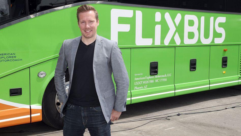 Träumt von Start-up-Schmankerl à la Macron: Flix-Chef André Schwämmlein