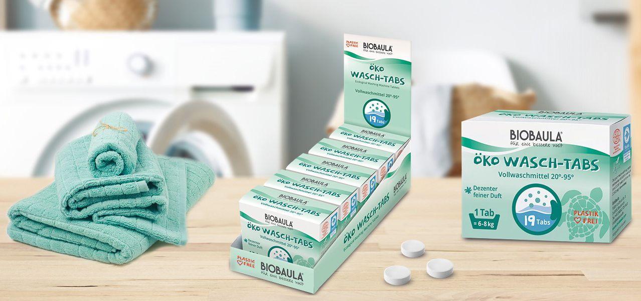 Slider Waschtabs / Biobaula