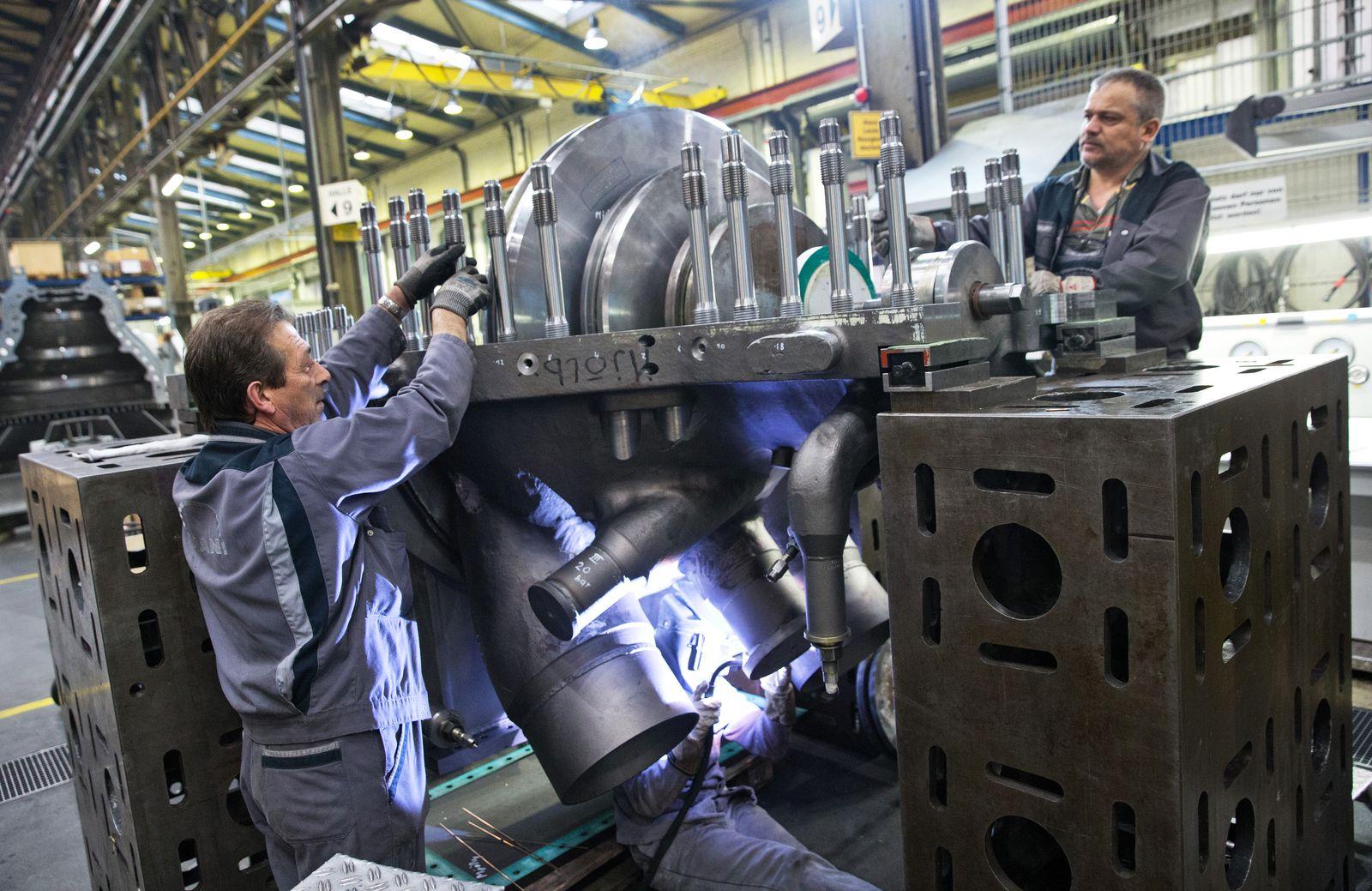 Deutschland / Industrie / Konjunktur / IFO-Index / Dampfturbinenproduktion