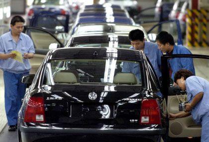 Passat-Produktion in Shanghai: Abwrackprämie nach deutschem Vorbild