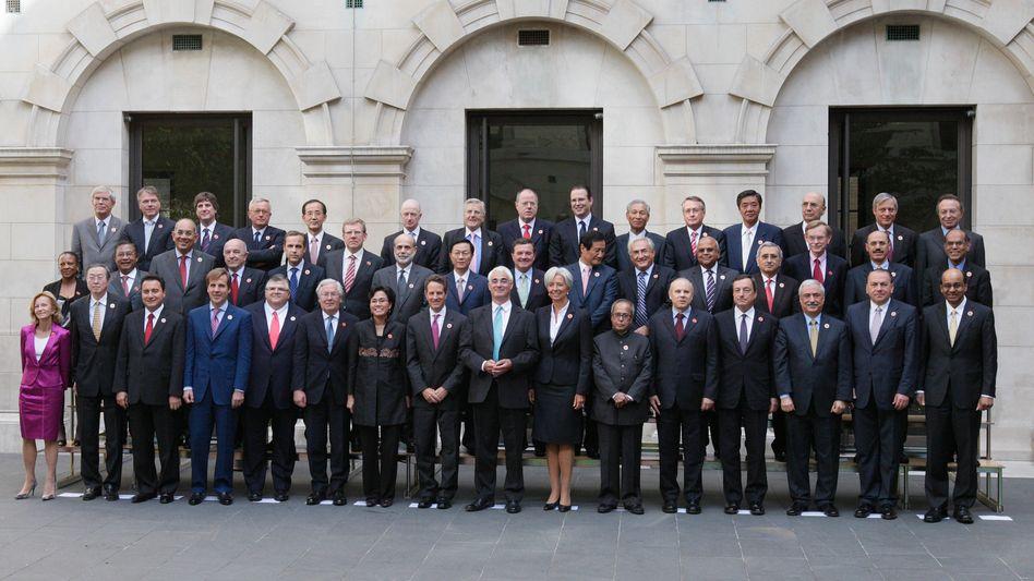 Gruppenfoto vom G20-Gipfel 2009 in London: Die Delegationen sollen bespitzelt worden sein