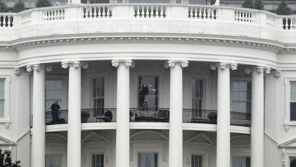 Offline: Das Weiße Haus in Washington