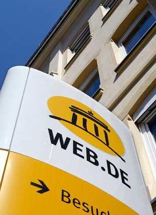 Web.de: Auf der schwarzen Liste
