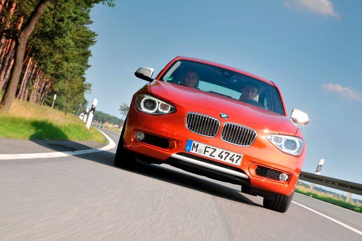 Neuer 1er-BMW: Schnittige Hülle für den Kompaktklasse-Herausforderer