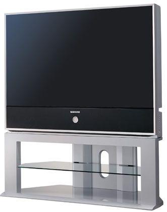 Rückprojektions-Modell mit 116 Zentimetern Bilddiagonale, 41 Zentimetern Gehäusetiefe und 33,5 Kilo Gewicht: Samsung TV SP-46 L5H kommt im August für 4500 Euro in den Handel