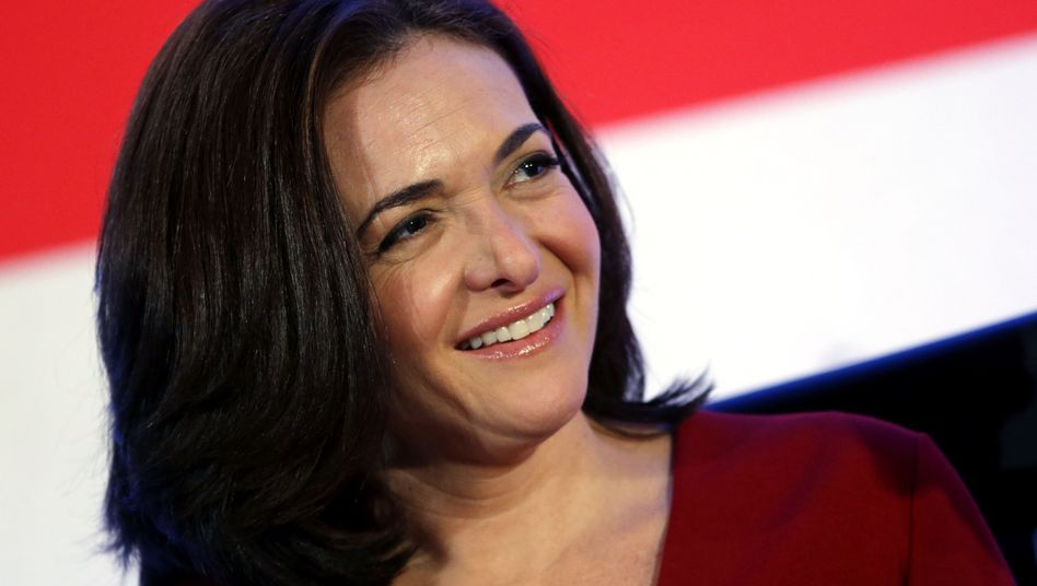 Neuerdings Milliardärin: Facebook-COO Sheryl Sandberg