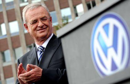 """""""VW werde ich weiter machen"""": Konzernchef Martin Winterkorn"""