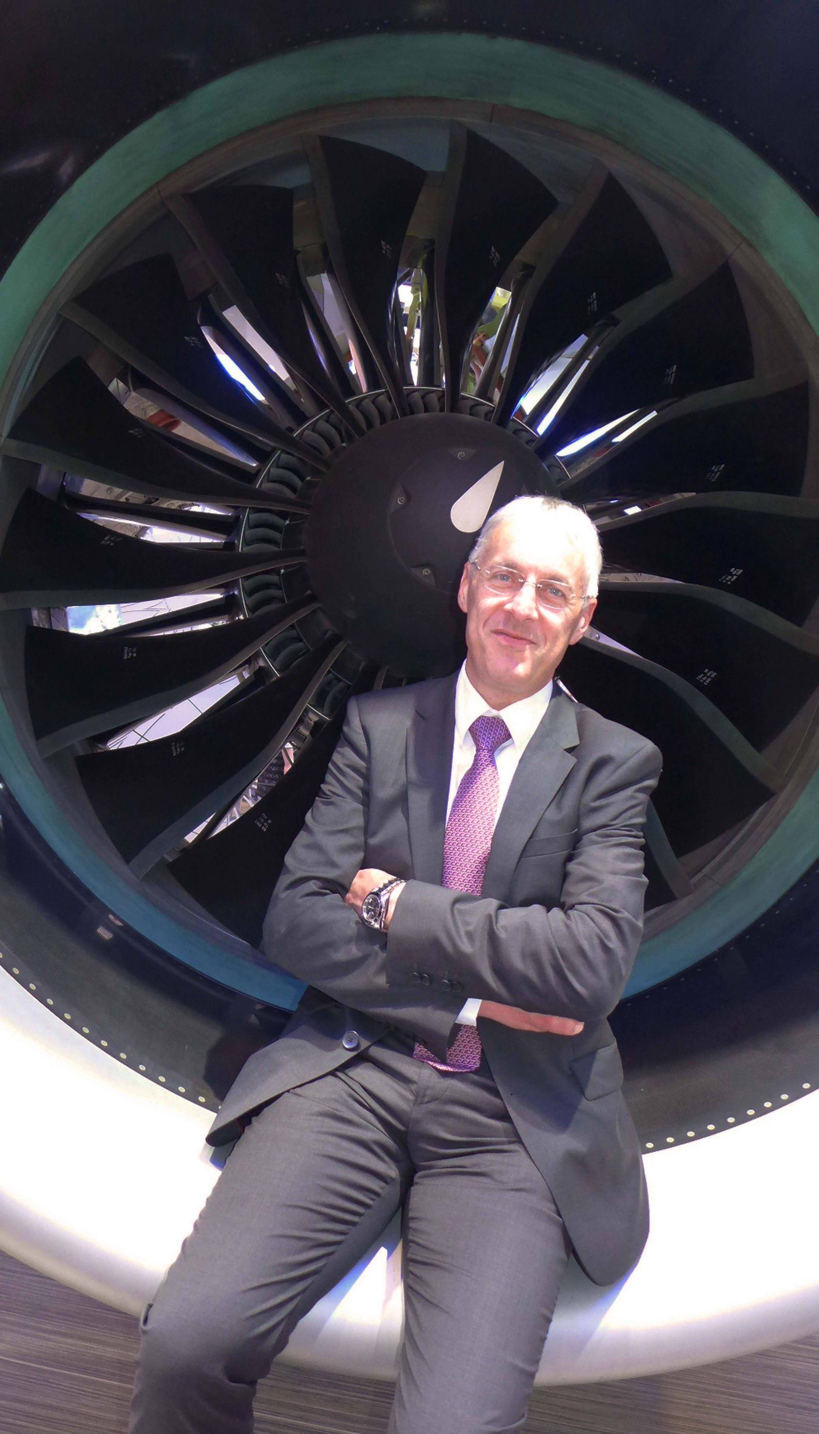 2014 05 20 wpBerlin Reiner WINKLER 53 ist seit Januar 2014 Vorstandsvorsitzender der MTU Aero En