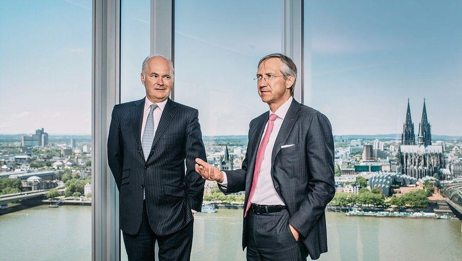 Unersetzlich: Die Fondsaufleger Kurt von Storch (l.) und Bert Flossbach