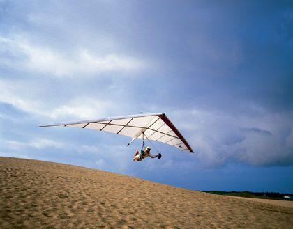 Gleiten wie die Wrights: Die Brüder haben nicht grundlos die Outer Banks für ihre ersten Flugversuche gewählt