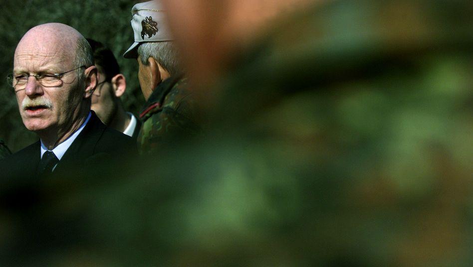 Tod nach Herzinfarkt: Ex-Verteidigungsminister Peter Struck