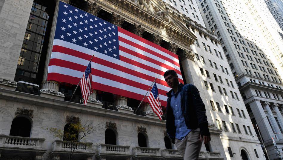 """Börse in New York: """"Neue spezifische Richtlinien"""" aus dem Finanzministerium"""