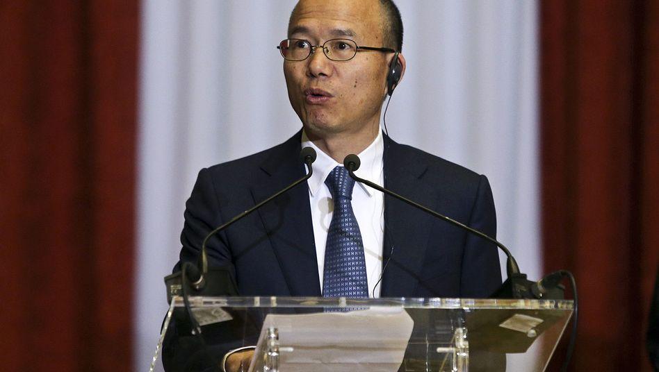Fosun-Chairman Guo Guangchang: Fosun ist an der BHF-Bank beteiligt - und käme bei einem Einstieg beim Rivalen Hauck & Aufhäuser in eine pikante Doppelrolle. Mit den restlichen BHG-Aktionären hat sich Fosun auf Grund des abrupten Chefwechsels überworfen