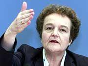 """""""Problematisches Vorhaben"""": Herta Däubler-Gmelin drängt die USA zum Einlenken"""