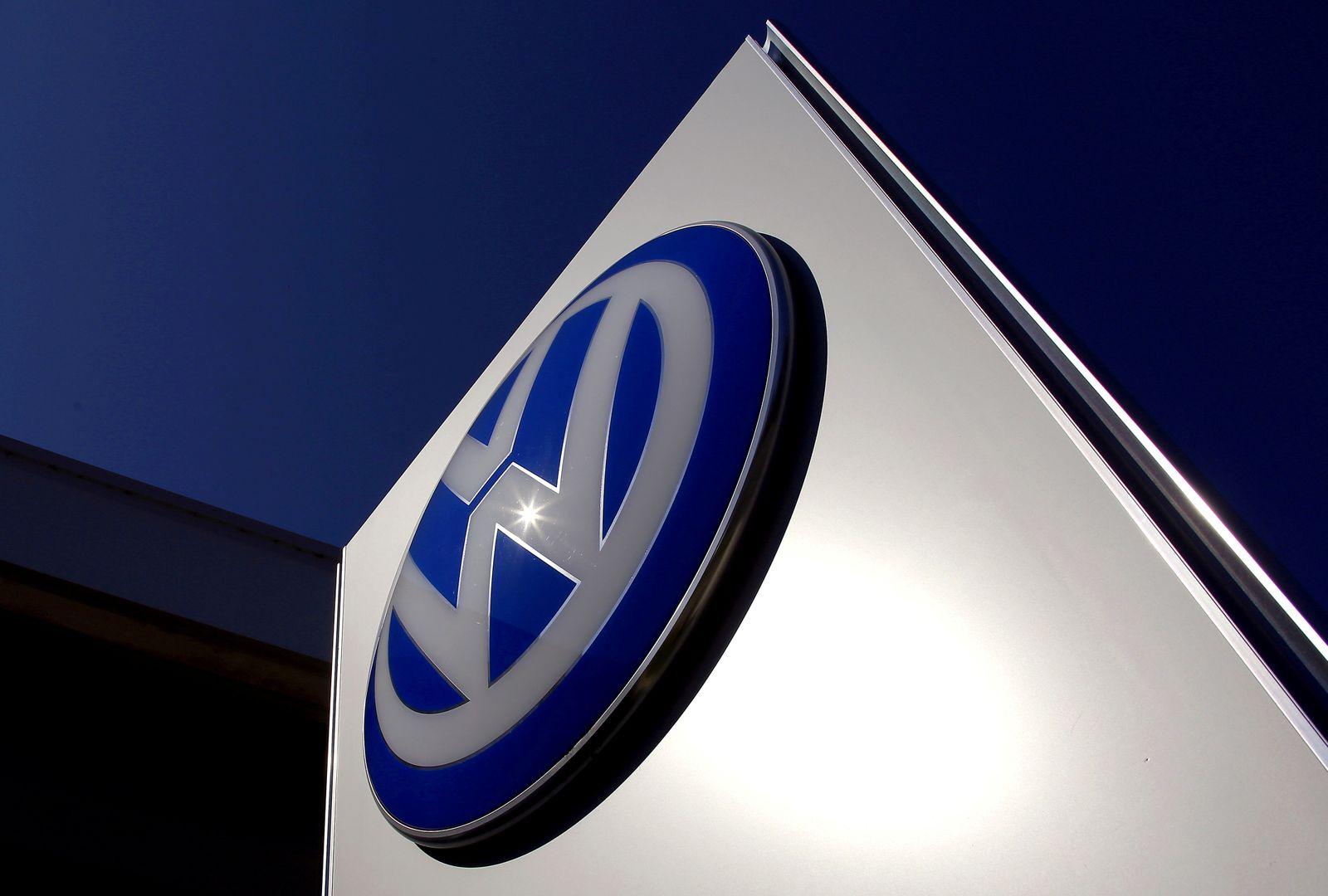 Volkswagen Schild