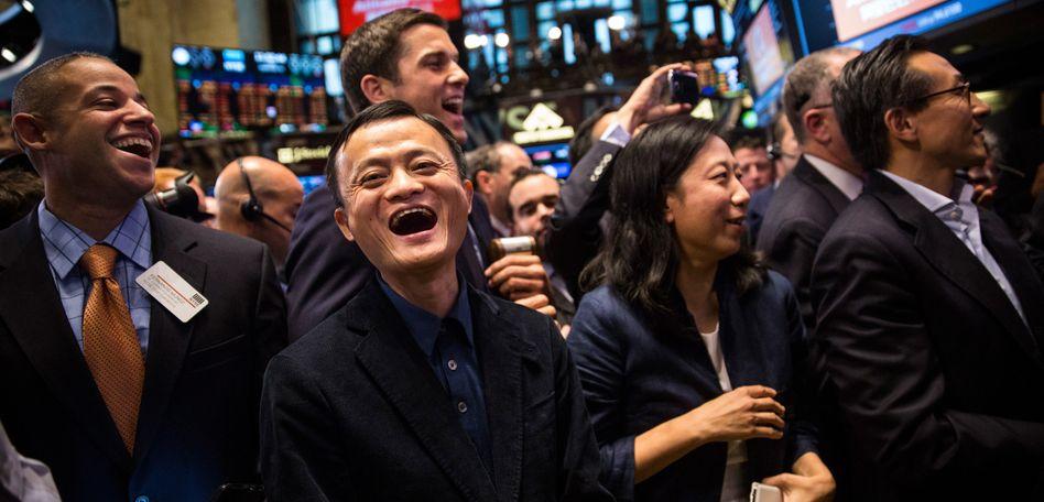 Hat den IPO-Rekord eingestellt: Alibaba-Gründer Ma (M.)