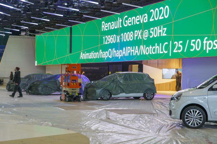 Schweiz sagt Auto-Salon in Genf ab - nun wollen die Hersteller die Präsentationen per Internet zeigen