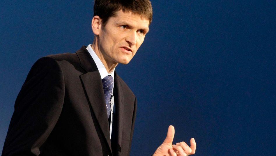 Munich-Re-Finanzvorstand Schneider: Die geringen Großschäden verdankt der Konzern dem Zufall